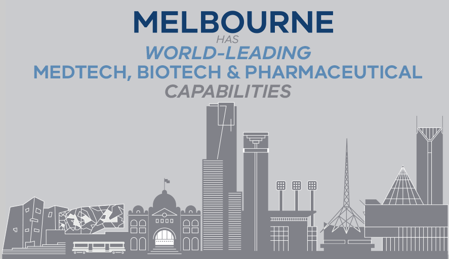 Melbourne has world-leading medtech biotech capabilities