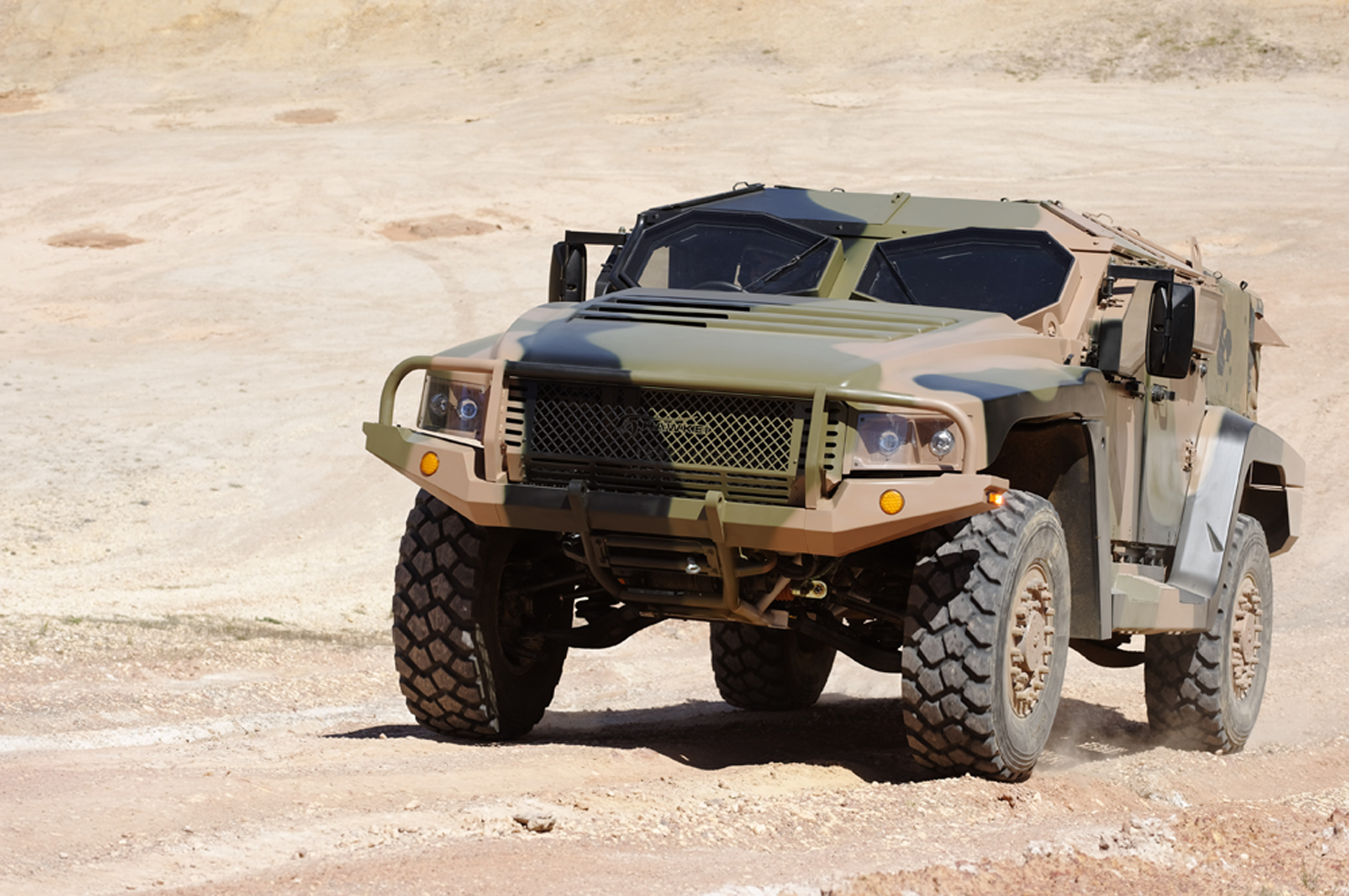 The Hawkei is a military vehicle built for the Australian Defence Force