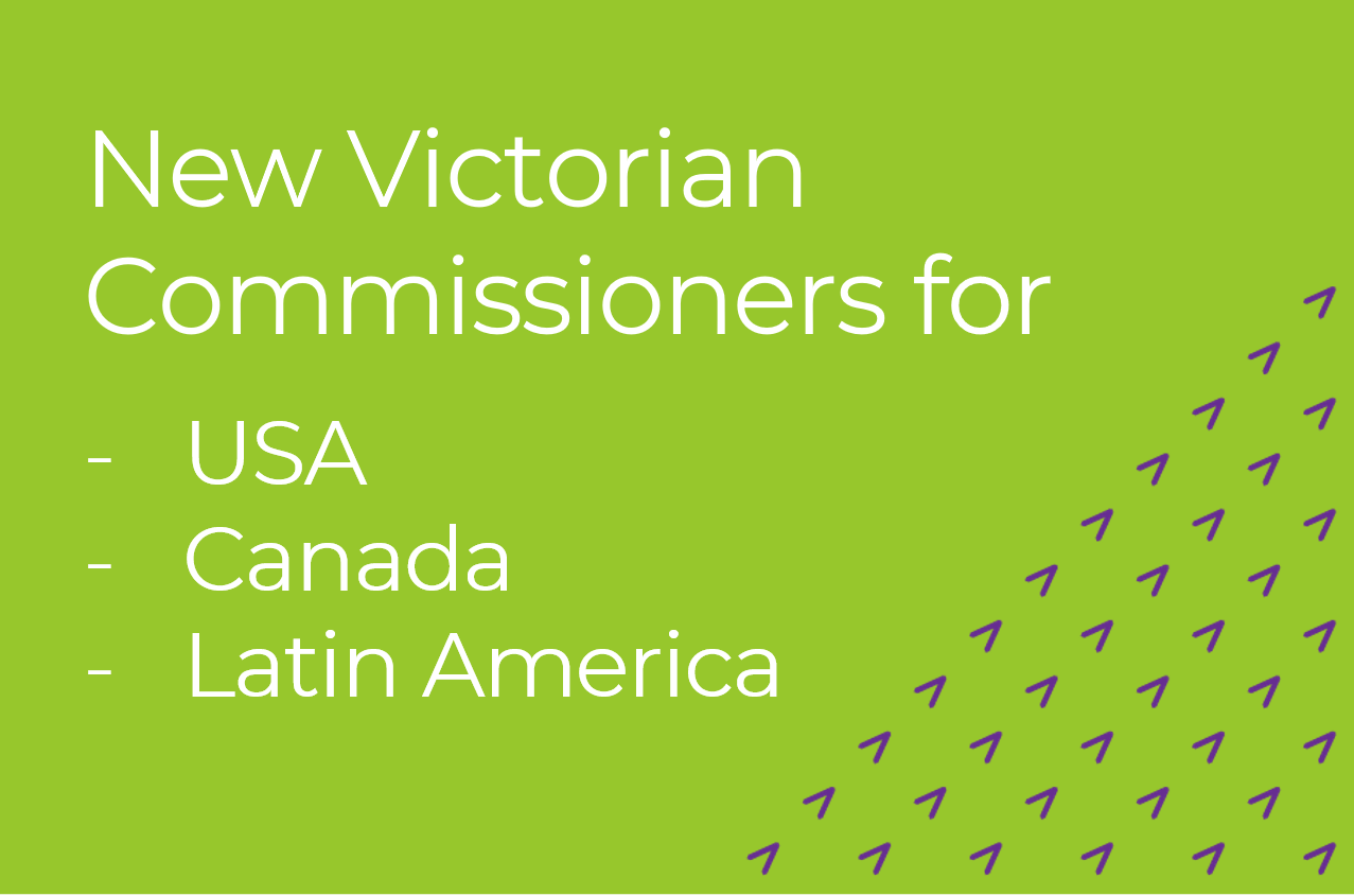 New Victorian Commissioners for USA, Canada and Latin America