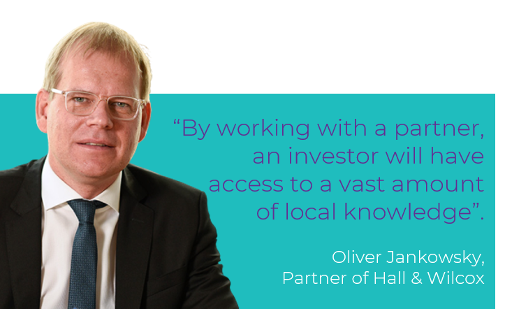 Oliver Jankowsky - Partner of Hall & Wilcox