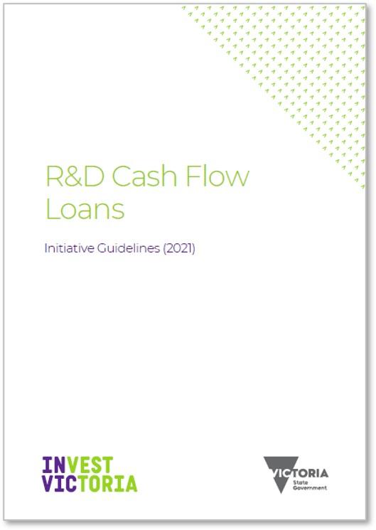 R&D Cash Flow Loans Initiative Guidelines